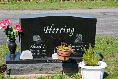 HERRING, EDWARD L - Richland County, Ohio | EDWARD L HERRING - Ohio Gravestone Photos