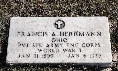 HERRMANN, FRANCIS A - Richland County, Ohio | FRANCIS A HERRMANN - Ohio Gravestone Photos