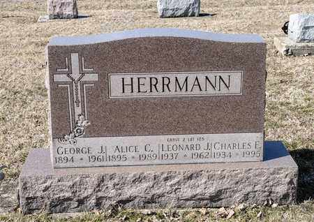 HERRMANN, GEORGE J - Richland County, Ohio | GEORGE J HERRMANN - Ohio Gravestone Photos