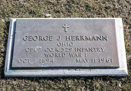 HERRMANN, GEORGE J - Richland County, Ohio | GEORGE J HERRMANN - Ohio Gravestone Photos