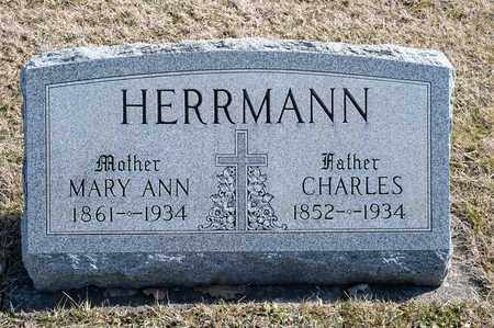 HERRMANN, CHARLES - Richland County, Ohio | CHARLES HERRMANN - Ohio Gravestone Photos