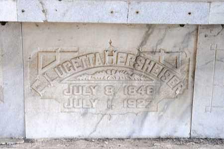 HERSHEISER, E LUGETTA - Richland County, Ohio | E LUGETTA HERSHEISER - Ohio Gravestone Photos