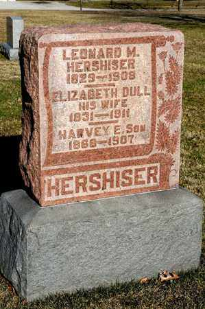HERSHISER, LEONARD M - Richland County, Ohio | LEONARD M HERSHISER - Ohio Gravestone Photos