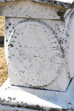 HERSHISER, SARAH - Richland County, Ohio | SARAH HERSHISER - Ohio Gravestone Photos