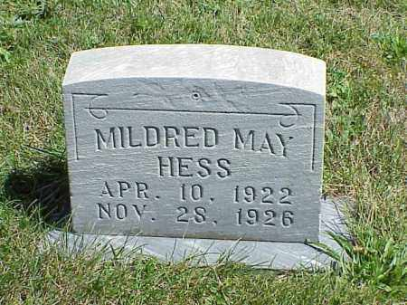 HESS, MILDRED MAY - Richland County, Ohio | MILDRED MAY HESS - Ohio Gravestone Photos