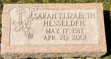 HESSELDEN, SARAH ELIZABETH - Richland County, Ohio | SARAH ELIZABETH HESSELDEN - Ohio Gravestone Photos