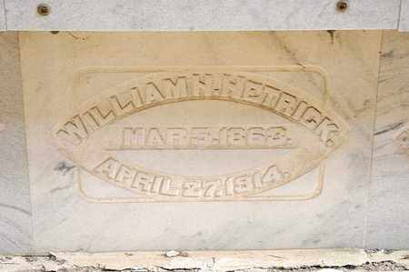 HETRICK, WILLIAM H - Richland County, Ohio | WILLIAM H HETRICK - Ohio Gravestone Photos