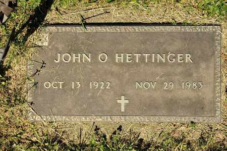 HETTINGER, JOHN O - Richland County, Ohio | JOHN O HETTINGER - Ohio Gravestone Photos
