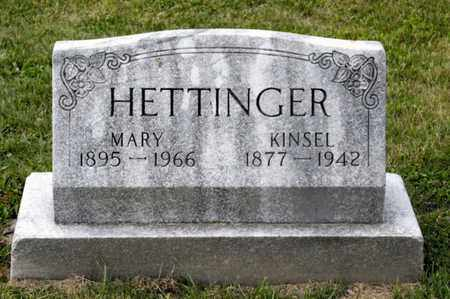 HETTINGER, MARY - Richland County, Ohio | MARY HETTINGER - Ohio Gravestone Photos
