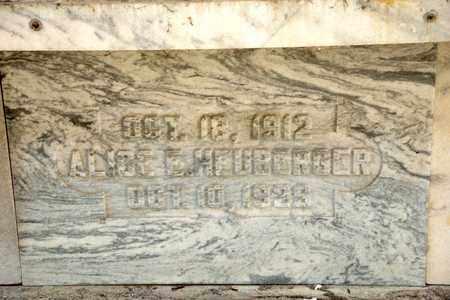 HEUBERGER, ALICE E - Richland County, Ohio | ALICE E HEUBERGER - Ohio Gravestone Photos