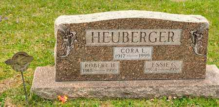 HEUBERGER, CORA L - Richland County, Ohio | CORA L HEUBERGER - Ohio Gravestone Photos