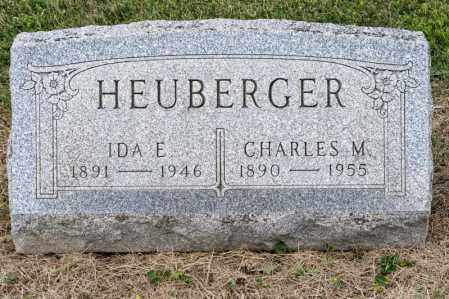 HEUBERGER, IDA E - Richland County, Ohio | IDA E HEUBERGER - Ohio Gravestone Photos