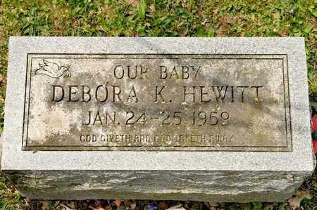 HEWITT, DEBORA K - Richland County, Ohio | DEBORA K HEWITT - Ohio Gravestone Photos