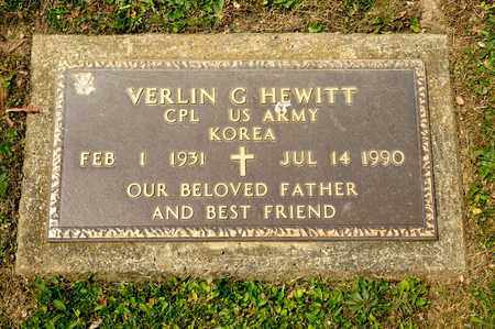 HEWITT, VERLIN G - Richland County, Ohio | VERLIN G HEWITT - Ohio Gravestone Photos