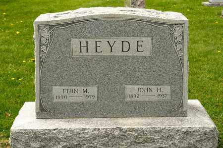 HEYDE, FERN M - Richland County, Ohio | FERN M HEYDE - Ohio Gravestone Photos