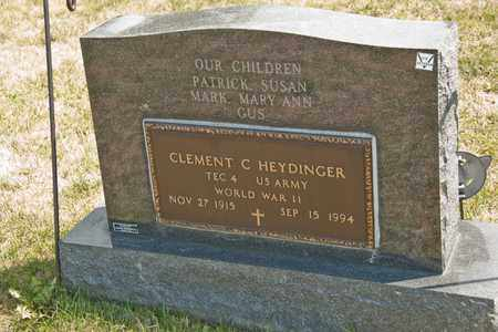 HEYDINGER, CLEMENT C - Richland County, Ohio | CLEMENT C HEYDINGER - Ohio Gravestone Photos
