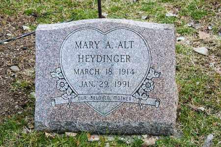 HEYDINGER, MARY A - Richland County, Ohio | MARY A HEYDINGER - Ohio Gravestone Photos