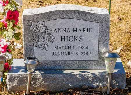 HICKS, ANNA MARIE - Richland County, Ohio | ANNA MARIE HICKS - Ohio Gravestone Photos