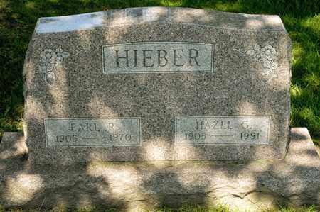 HIEBER, EARL R - Richland County, Ohio | EARL R HIEBER - Ohio Gravestone Photos