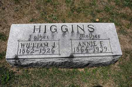 HIGGINS, WILLIAM J - Richland County, Ohio | WILLIAM J HIGGINS - Ohio Gravestone Photos