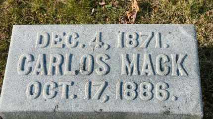 HILDEBRANT, CARLOS MACK - Richland County, Ohio | CARLOS MACK HILDEBRANT - Ohio Gravestone Photos