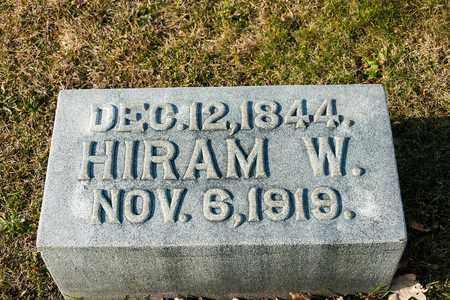 HILDEBRANT, HIRAM W - Richland County, Ohio | HIRAM W HILDEBRANT - Ohio Gravestone Photos