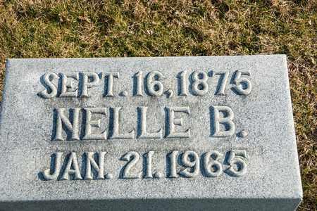 HILDEBRANT, NELLE B - Richland County, Ohio | NELLE B HILDEBRANT - Ohio Gravestone Photos