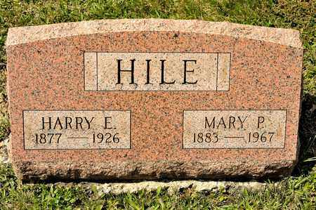HILE, MARY P - Richland County, Ohio | MARY P HILE - Ohio Gravestone Photos