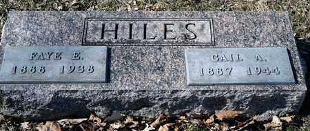 HILES, FAYE - Richland County, Ohio | FAYE HILES - Ohio Gravestone Photos