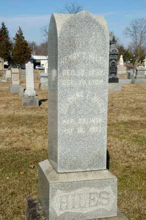 HILES, DELPHINE F - Richland County, Ohio | DELPHINE F HILES - Ohio Gravestone Photos
