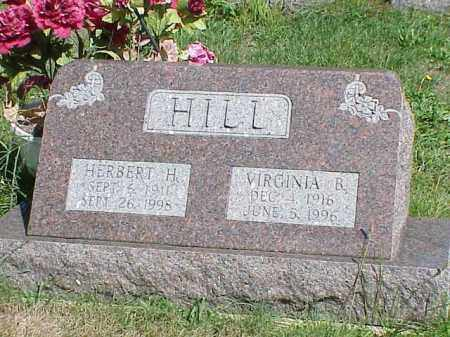 HILL, VIRGINIA R. - Richland County, Ohio | VIRGINIA R. HILL - Ohio Gravestone Photos