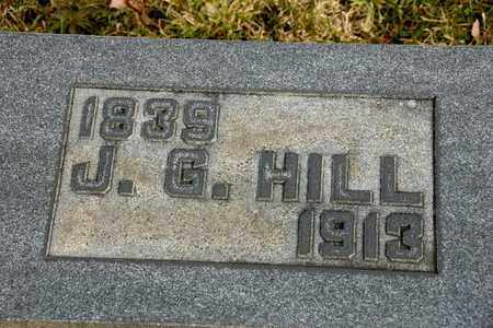 HILL, J G - Richland County, Ohio | J G HILL - Ohio Gravestone Photos