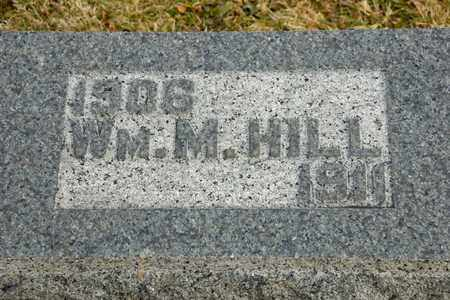 HILL, WILLIAM M - Richland County, Ohio | WILLIAM M HILL - Ohio Gravestone Photos
