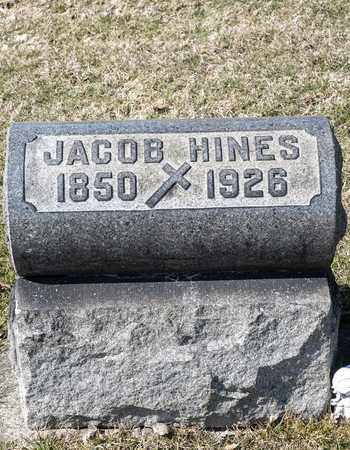 HINES, JACOB - Richland County, Ohio | JACOB HINES - Ohio Gravestone Photos
