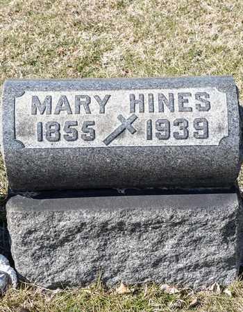 HINES, MARY - Richland County, Ohio | MARY HINES - Ohio Gravestone Photos