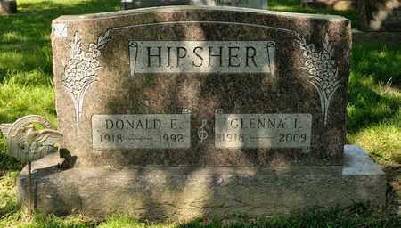 HIPSHER, DONALD E - Richland County, Ohio | DONALD E HIPSHER - Ohio Gravestone Photos