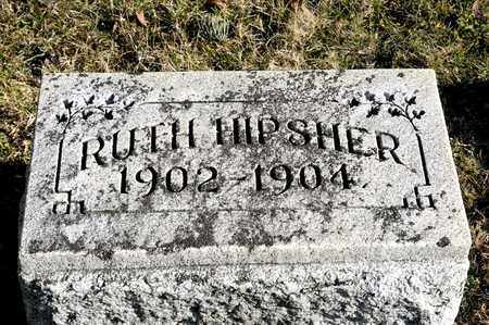 HIPSHER, RUTH - Richland County, Ohio | RUTH HIPSHER - Ohio Gravestone Photos