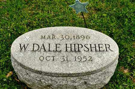 HIPSHER, W DALE - Richland County, Ohio | W DALE HIPSHER - Ohio Gravestone Photos