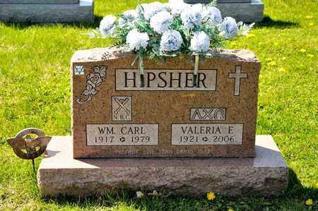 HIPSHER, VALERIA E - Richland County, Ohio | VALERIA E HIPSHER - Ohio Gravestone Photos