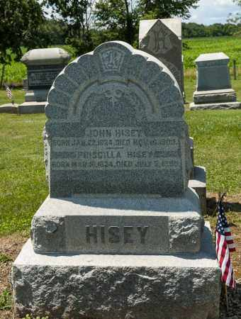HISEY, PRISCILLA - Richland County, Ohio | PRISCILLA HISEY - Ohio Gravestone Photos