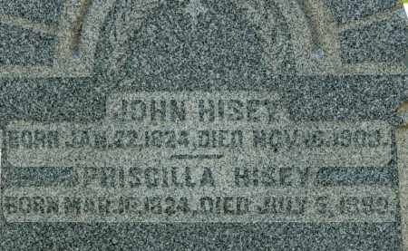 HISEY, JOHN - Richland County, Ohio | JOHN HISEY - Ohio Gravestone Photos