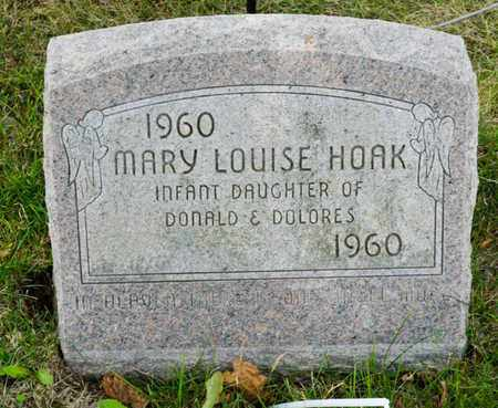 HOAK, MARY LOUISE - Richland County, Ohio | MARY LOUISE HOAK - Ohio Gravestone Photos