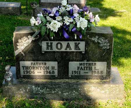 HOAK, THORNTON H - Richland County, Ohio | THORNTON H HOAK - Ohio Gravestone Photos