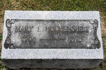 HOCHENSHILT, MARY E - Richland County, Ohio   MARY E HOCHENSHILT - Ohio Gravestone Photos