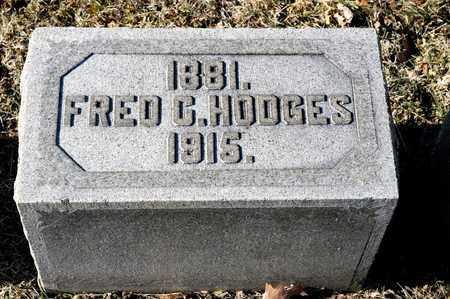 HODGES, FRED C - Richland County, Ohio | FRED C HODGES - Ohio Gravestone Photos