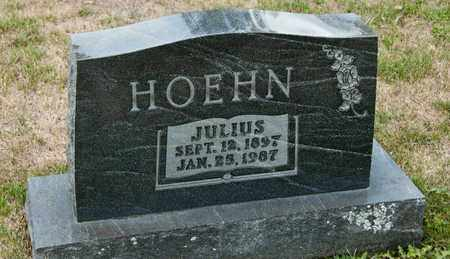 HOEHN, JULIUS - Richland County, Ohio | JULIUS HOEHN - Ohio Gravestone Photos