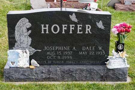 HOFFER, JOSEPHINE A - Richland County, Ohio | JOSEPHINE A HOFFER - Ohio Gravestone Photos