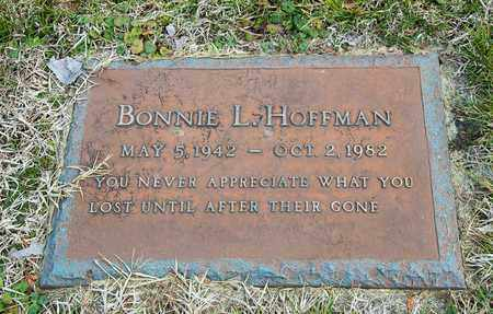 HOFFMAN, BONNIE L - Richland County, Ohio | BONNIE L HOFFMAN - Ohio Gravestone Photos