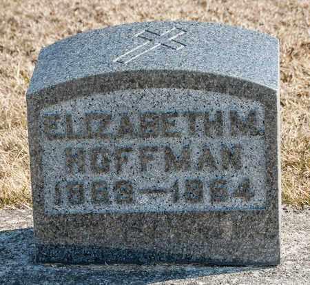HOFFMAN, ELIZABETH M - Richland County, Ohio | ELIZABETH M HOFFMAN - Ohio Gravestone Photos