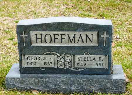 HOFFMAN, STELLA E - Richland County, Ohio | STELLA E HOFFMAN - Ohio Gravestone Photos